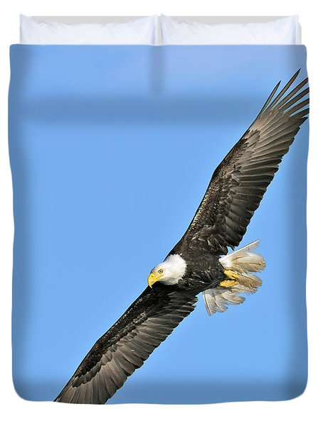 Eagle On The Wing Duvet Cover