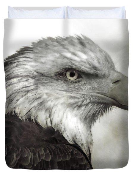 Eagle Protrait Duvet Cover