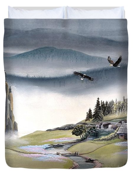 Eagle View Duvet Cover