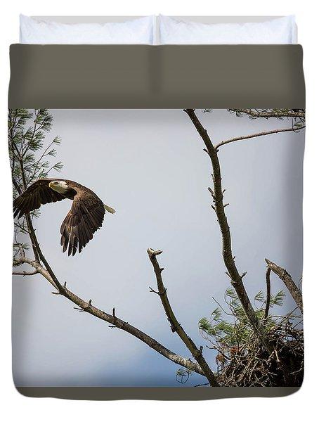 Eagle's Nest Duvet Cover