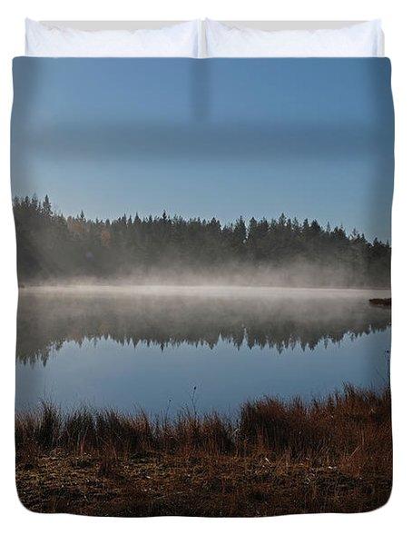 Early Morning Duvet Cover
