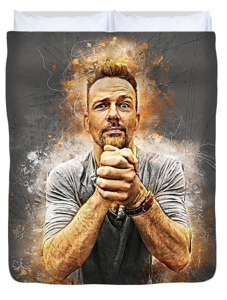 Earnestly Flanery Duvet Cover