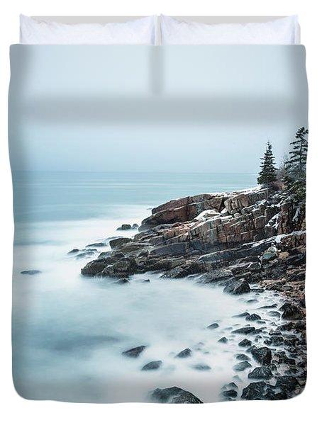 East Coast Winters Duvet Cover