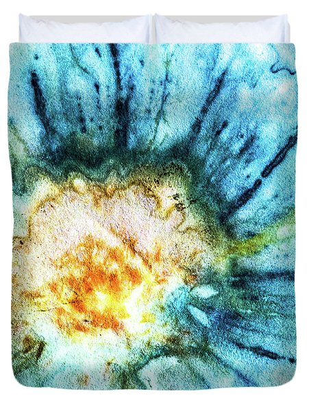 Eco Dyed Cosmos Duvet Cover