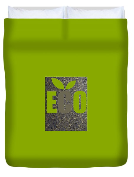 Eco Green Duvet Cover