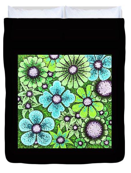 Efflorescent 9 Duvet Cover