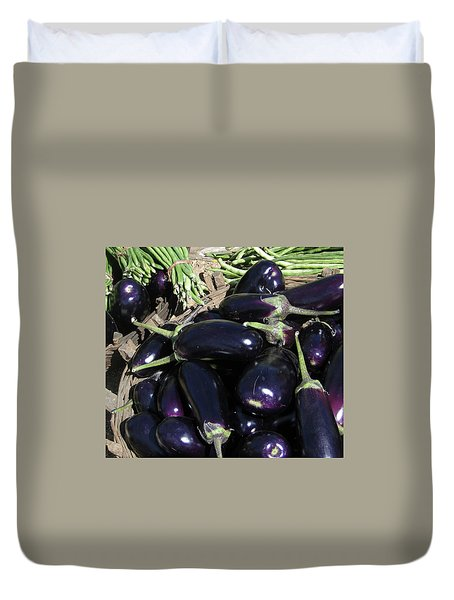 Eggplants   For Sale In In Chatikona  Duvet Cover