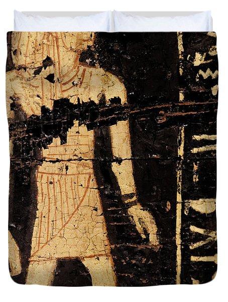 Egyptian Immortal Art Duvet Cover