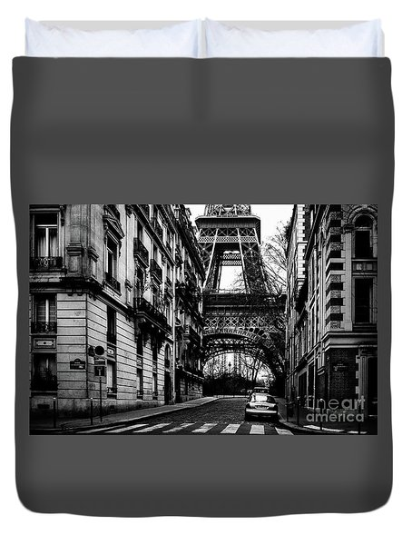 Eiffel Tower - Classic View Duvet Cover