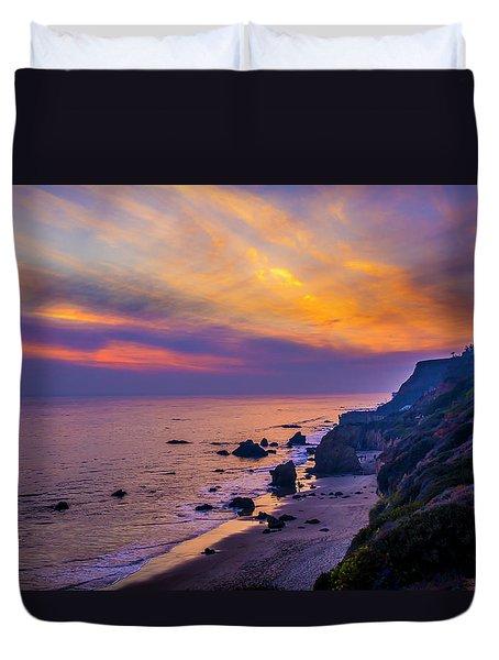 El Matador Sunset Duvet Cover