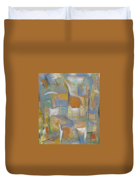 Elements Of Time Duvet Cover