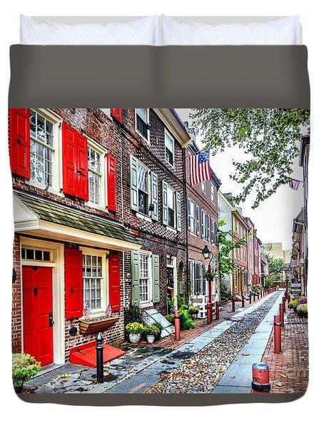 Elfreths Alley Duvet Cover