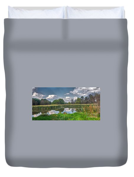 Ellis Pond Duvet Cover