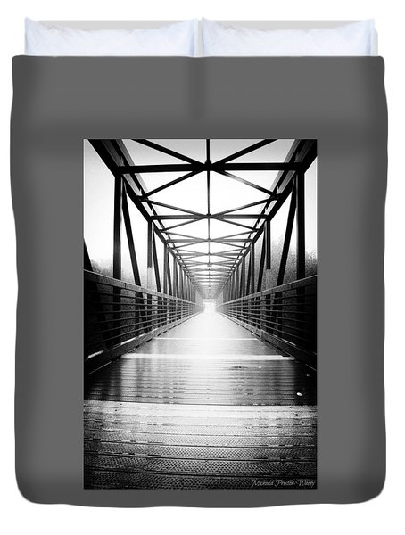 Elora Bridge Duvet Cover