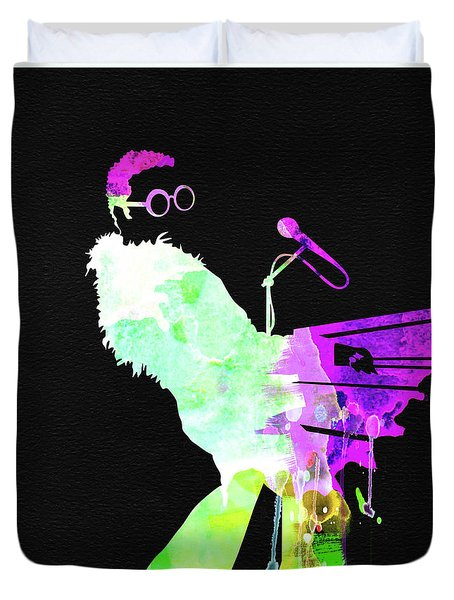 Elton Watercolor II Duvet Cover