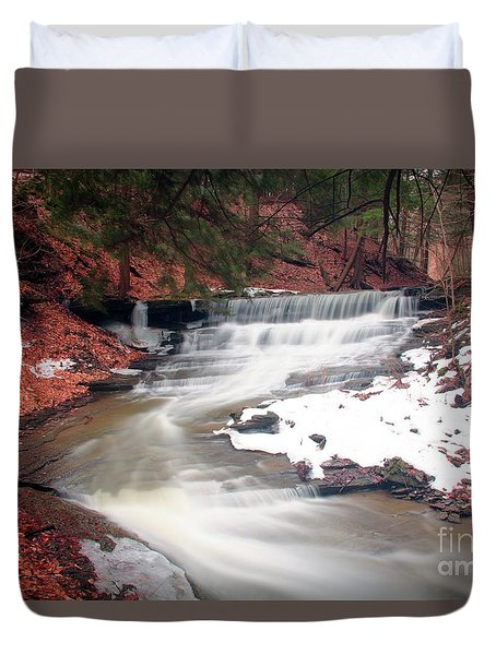Emery Park South Wales Ny Duvet Cover