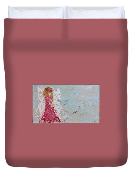 Emma's Angel Duvet Cover