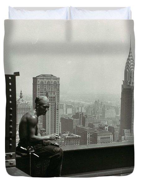 Empire State Building 1930 Duvet Cover