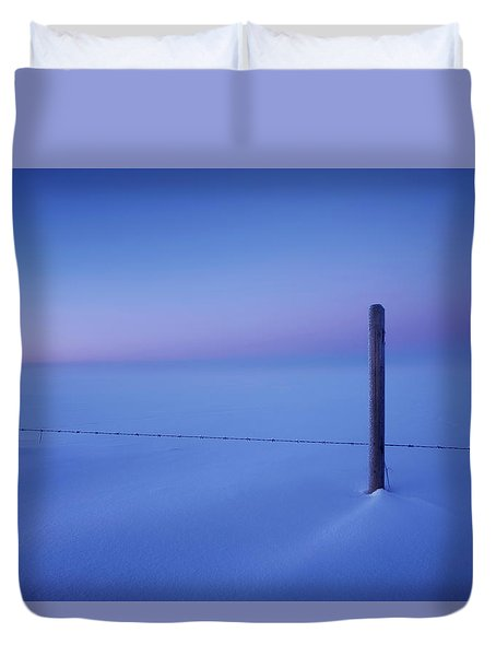 Empty And Cold Duvet Cover