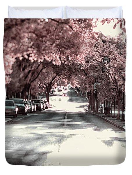 Empty Street Duvet Cover
