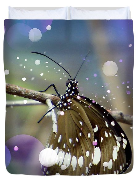 Enchanting Butterfly  Duvet Cover