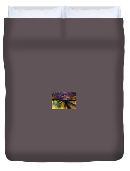 End Of The Line Duvet Cover