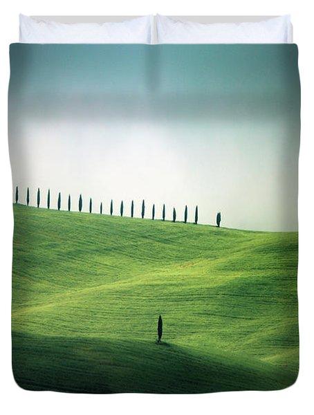 Endless Hills Duvet Cover