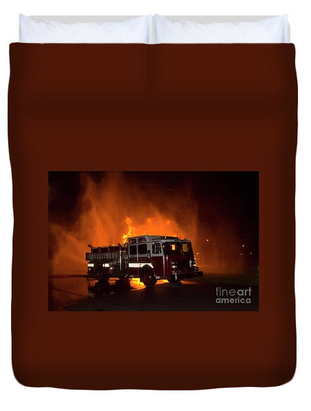 Engine 2 Duvet Cover