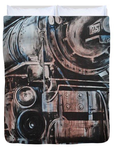 Engine #25 Duvet Cover