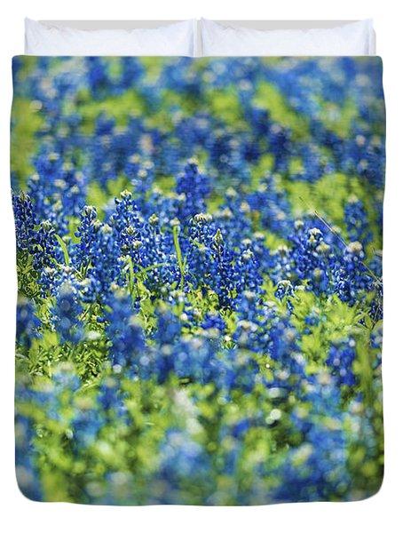 Ennis Bluebonnets Duvet Cover