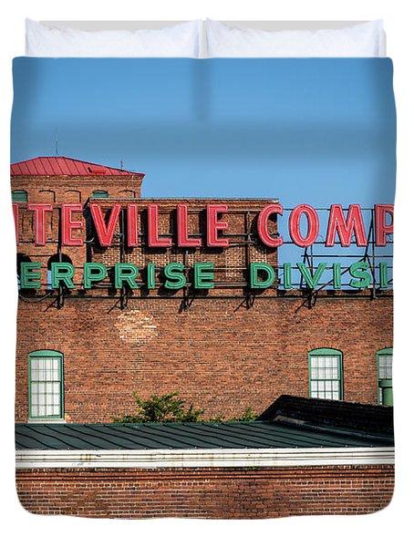 Enterprise Mill - Graniteville Company - Augusta Ga 1 Duvet Cover