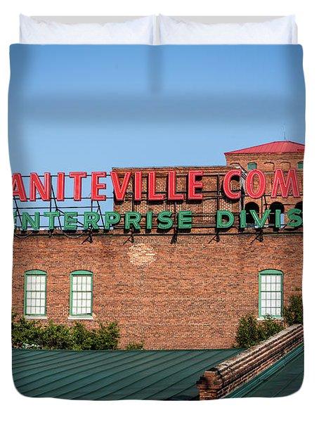 Enterprise Mill - Graniteville Company - Augusta Ga 2 Duvet Cover