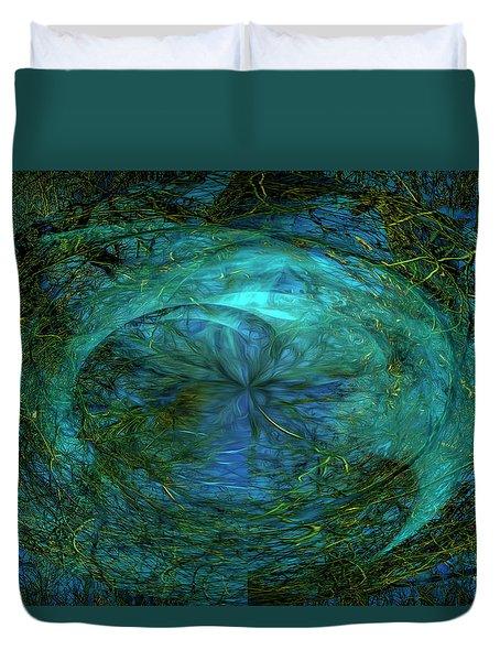 Entropy Duvet Cover