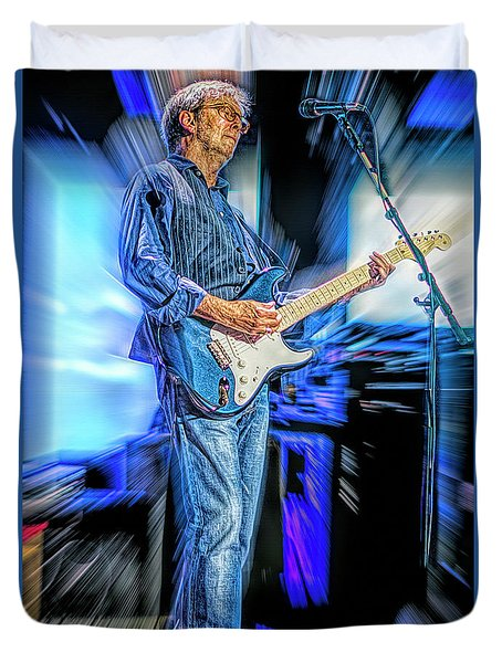 Eric Clapton Slowhand Duvet Cover