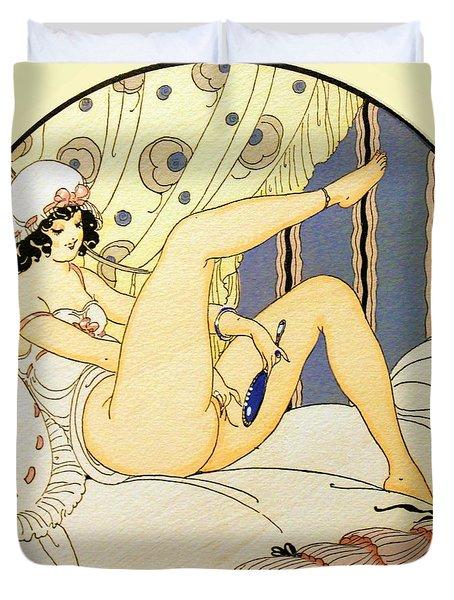Eros Pleasure - Digital Remastered Edition Duvet Cover