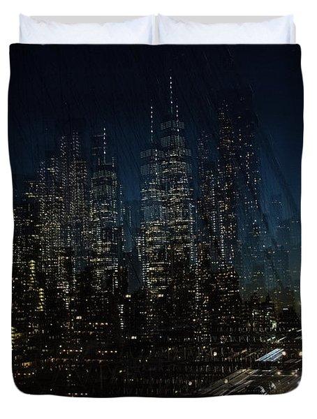 Escape From New York Duvet Cover