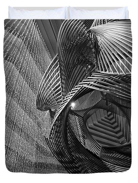 Escher's Summer Cottage Duvet Cover