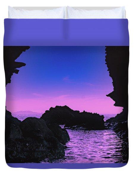 Espiritu Santo Island Duvet Cover