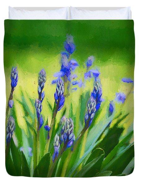 Essense Of Spring Duvet Cover