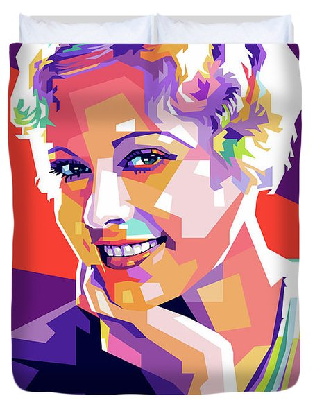 Esther Ralston Duvet Cover