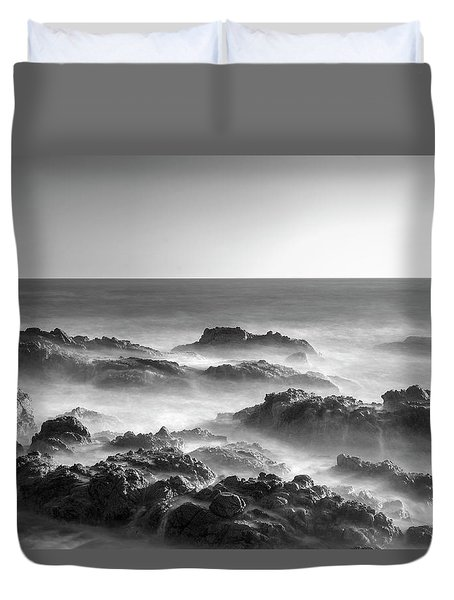 Duvet Cover featuring the photograph Eternal Battle Of Wind And Water by Quality HDR Photography