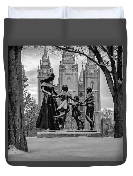 Eternal Family Duvet Cover