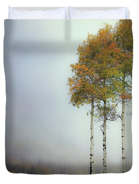 Ethereal Autumn Duvet Cover