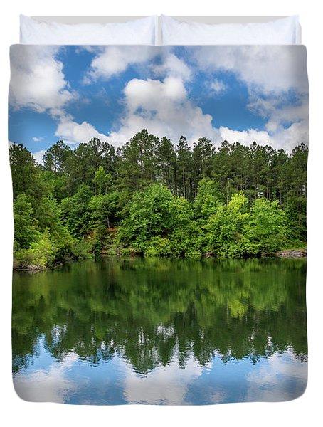 Euchee Creek Park - Grovetown Trails Near Augusta Ga 1 Duvet Cover