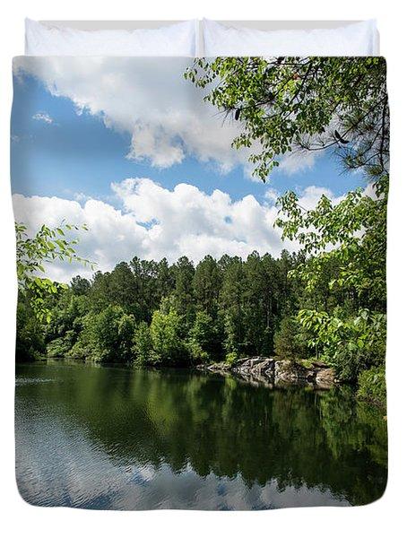 Euchee Creek Park - Grovetown Trails Near Augusta Ga 2 Duvet Cover