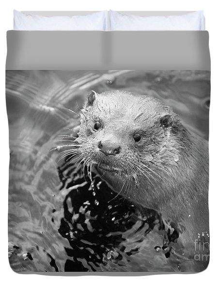 European Otter Duvet Cover