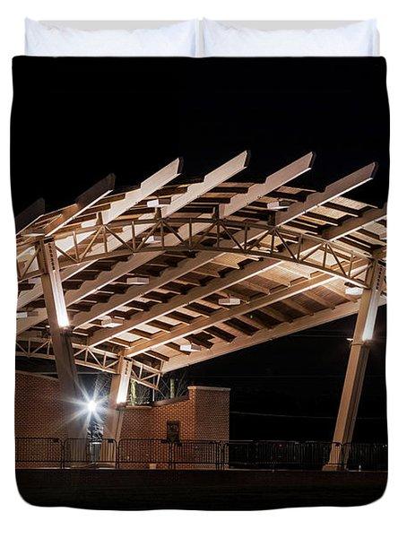 Evans Towne Center Park - Augusta Ga Duvet Cover