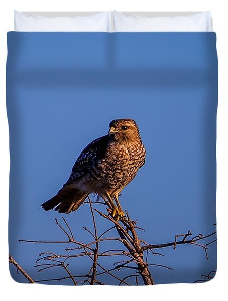 Evening Look Out Duvet Cover