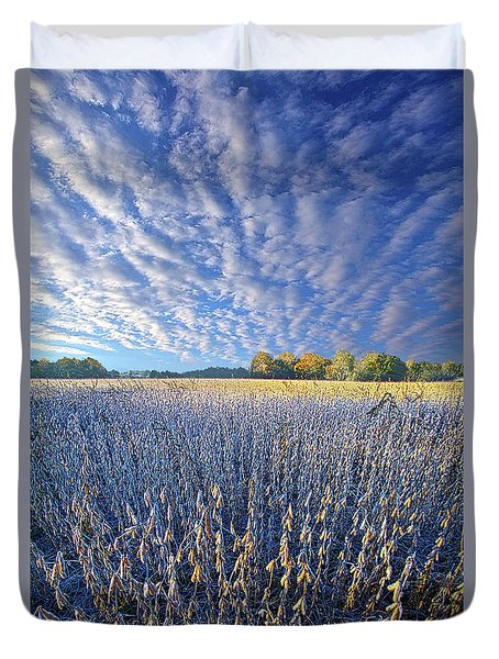 Duvet Cover featuring the photograph Every Moment Spent by Phil Koch