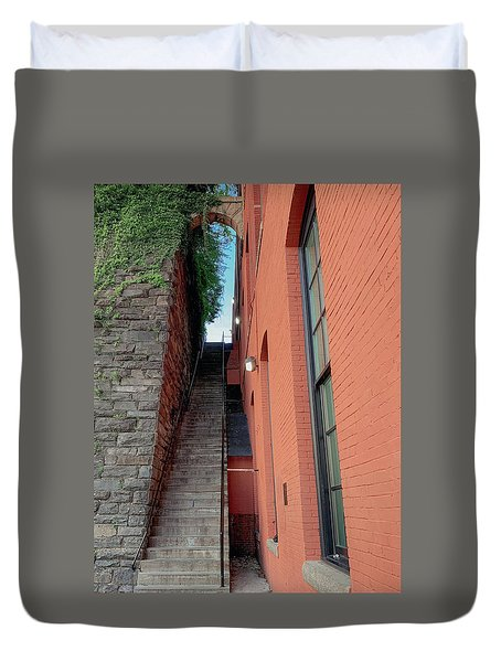 Exorcist Stairs Beauty Duvet Cover